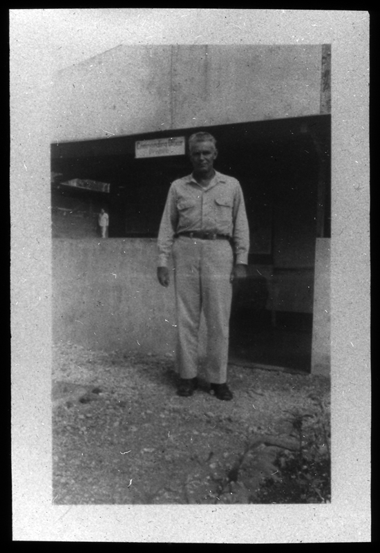 Picture of officer at 27th General Hospital